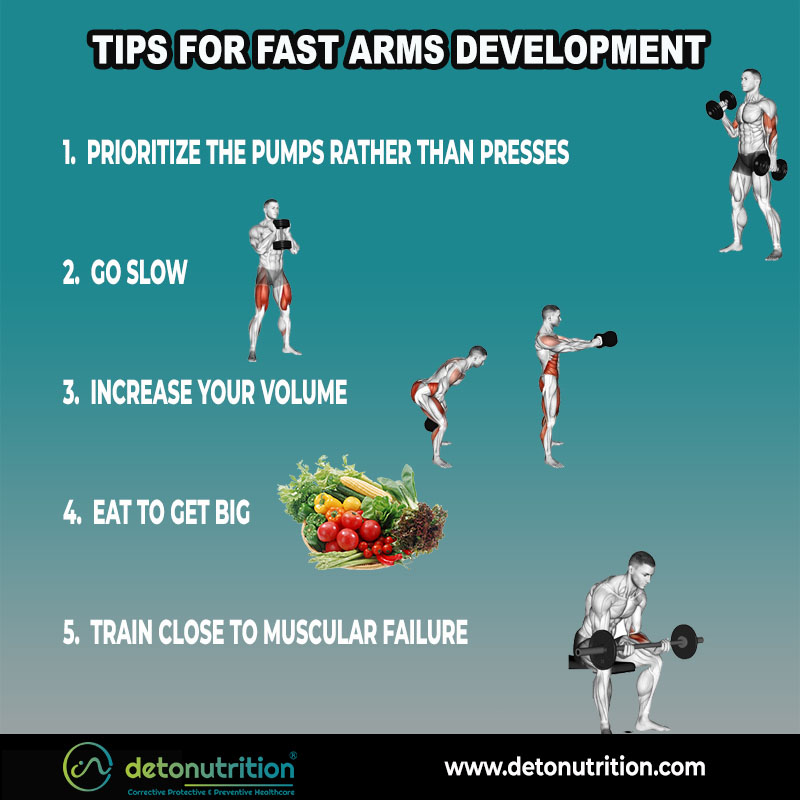 Tips for Arm Muscle Development