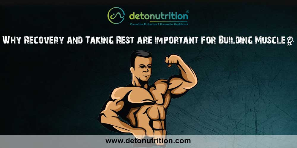 Recovery for muscle building