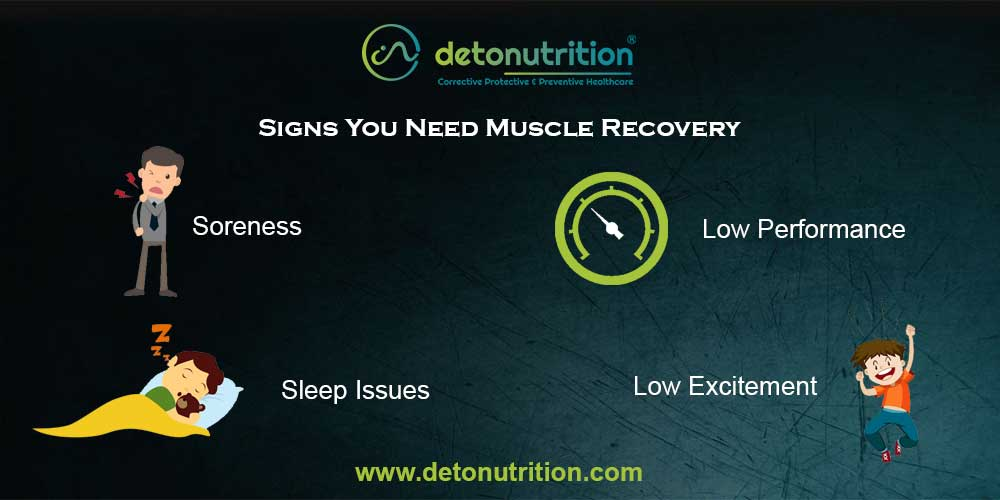 Signs you need muscle recovery